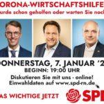 SPD zu Corona Wirtschaftshilfen: </br>Wurde schon geholfen oder warten Sie noch?
