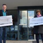 Nußloch: 2.500 Euro Spende von Renate Dyllong an Lichtblick, Lädl und Jugend-Feuerwehr