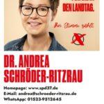 SPD-Vorsitzende Saskia Esken virtuell bei Andrea Schröder-Ritzrau zu Gast