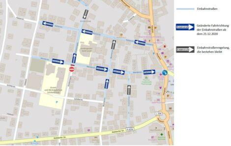 Sanierung Nußlocher Ortsmitte III – </br>Parken & Änderung der Verkehrsführung