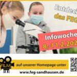 Infowoche am Friedrich-Ebert-Gymnasium Sandhausen vom 8.-11. Februar