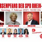 Neujahrsempfang der SPD Rhein-Neckar am Sonntag um 15 Uhr in digitaler Form