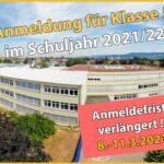 Friedrich-Ebert-Gymnasium Sandhausen: </br>Anmeldung der neuen Fünftklässler