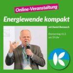 """Klimaliste BaWü: """"Energiewende kompakt"""" mit Daniel Bannasch"""
