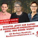 SPD-Online-Diskussion: Das Erneuerbare-Energien-Gesetz (EEG). Der große Wurf?