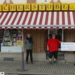 Sandhäuser Bücherstube spendet 500 € aus Nikolaus-Aktion an die AWO