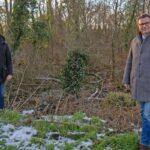 "Hakan Günes und Forstminister Peter Hauk: ""Unser Wald braucht unsere Hilfe"""