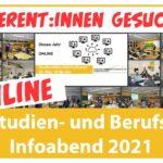 Online-Studien & BerufsInfo-Abend 2021 am FEG – Eltern als Referenten gesucht
