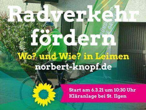 Radverkehr fördern – Wo und wie? </br>Radtour am Samstag mit Frühwirt & Knopf