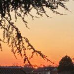 Fesh Fesh – Trockener Wüstenstaub über der Region - Tolle Sonnenuntergänge
