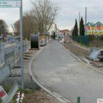 Bauarbeiten Römer-/Nußlocher Straße - Südzufahrt gesperrt, Zugang nur von Norden