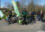B90/Grüne: Wahlkampf-Radtour mit Norbert Knopf in und um Leimen herum