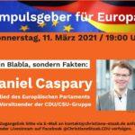 Christiane Staab lädt zur Videokonferenz mit Daniel Caspary MdEP ein