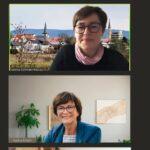 Die Zukunft der Bildung - Saskia Esken diskutierte mit Andrea Schröder-Ritzrau