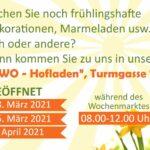 ENTFÄLLT: AWo-Bastelkreis Oster-Deko parallel zum Leimener Wochenmarkt einkaufen