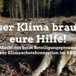 Bürgerbeteiligung zum Klimaschutzkonzept des Kreises jetzt online