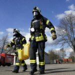 Die freiwillige Feuerwehr Nußloch bleibt auch in Corona-Zeiten voll einsatzbereit