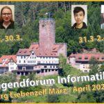 Fr.-Ebert-Gymnasium: Teilnahme am Jugendforum Informatik 2021