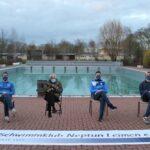 Hoher Besuch im Leimener Freibad - Waiting with Bernie