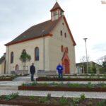 Das Kleinod im Diljemer Ortszentrum: Aegidiuskirche mit neuem Vorplatz