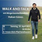 Walk and Talk mit Hakan Günes - Samstag am Trimm-Dich-Pfad