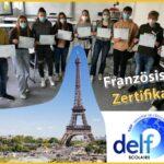 Verleihung der DELF-Französisch-Zertifikate am Friedrich-Ebert-Gymnasium
