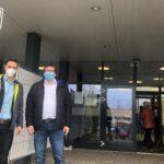 Mobiles Impfzentrum Rhein-Neckar erstmals in Nußloch