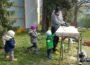 Elternspende eines Hochbeetes für den kath. Kindergarten St. Georg