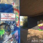Graffiti ist in Nußloch ausdrücklich erwünscht