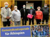 Dank an Sandhäuser Gemeinderat für Äthiopien-Spende