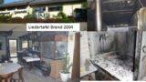 Liedertafel Leimen: Das Vereinsheim – Seine Wirte und der Brand von 2004