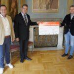 """Sozialverein """"Auf Augenhöhe"""" erhält 5.000€ Spende von Firma Emmel"""