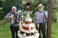 10 Jahre Leimenblog: Musikalische Glückwünsche und eine Riesentorte