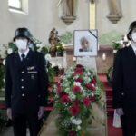 Video der Trauerfeier von Bruno Sauerzapf - Beerdigung fand auf Bergfriedhof statt