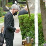 Abschied von Bruno Sauerzapf - BVerfG-Präsident Harbarth verneigte sich am Grab