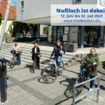 Stadtradeln: Nußloch ist dabei - </br>Radeln Sie mit - Am besten jeden Tag
