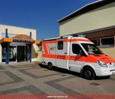 Sanitätsdienst Zweitimpftermine in der Aegidiushalle