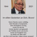 Nachruf Bruno Sauerzapf FORL e.V. und DRK Leimen