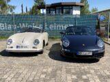 Tolle Form, perfekte Rundungen, zeitloses Design: Der Hingucker Porsche