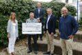 Musikschule Leimen freut sich über 1000 Euro Spende von Bortz GartenGut