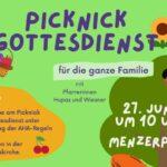 Picknick-Gottesdienst am 27. Juni im Leimener Menzerpark