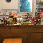 Lebensmittel-Sammelaktion für das AWO Lädle Sandhausen - Samstag vor REWE