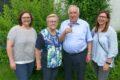 Rudi Sailers 75. Geburtstag: Gratulationen wurde im Hof entgegengenommen