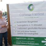 Corona-Testzentrum beim Hotel Engelhorn: </br>Für Frühaufsteher bis Spät-Einchecker