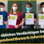 Jugendwettbewerb Informatik - Fr.-Ebert-Gymnasium in allen Stufen erfolgreich