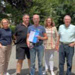 Walter Wdowiak  nach 40 Jahren bei Fa. Appel in Ruhestand verabschiedet