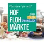 190 Hofflohmärkte in Leimen – diesmal auch mit Kinderbedarf!