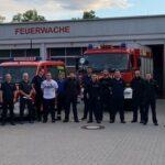 Hiesiger Hochwasser-Zug der Feuerwehren im Landkreis Trier-Saarburg im Einsatz