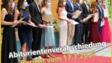 Verabschiedung des Abiturjahrgangs 2021 – Top-Leistungen mit Gesamt-Schulschnitt 2,1