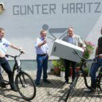 Leimen liefert - Gewinner-Ziehung durch Leimens Ehrenbürger Günter Haritz